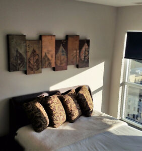 Now Available - furnished 2 bdrm with den - corner unit Kitchener / Waterloo Kitchener Area image 2