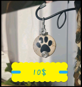 PAW PRINT PENDANT at 10$ ONLY