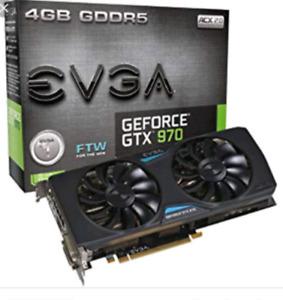 Gtx 970 4gb EVGA ftw