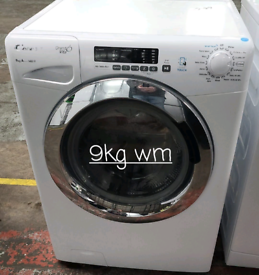 Candy 9kg washing machine free delivery in Leicester