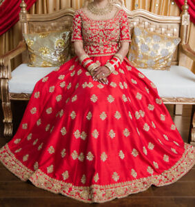 INDIAN WEDDING BRIDAL & PARTY OUTFITS, reception, maiyan, lengha