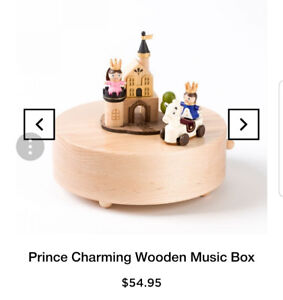 Music box prince charming! Downtown or scarborough