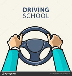 COURS DE CONDUITE  (70 MINUTES $32)  (2H/$54)  DRIVING LESSONS