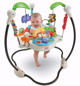 """Fisher Price """"Luv You Zoo"""" Jumperoo"""