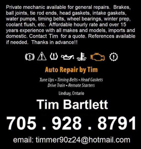 Private auto repair