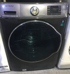 Samsung front load washer charcoal colour $950