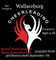 Wallaceburg Competitive Cheerleading