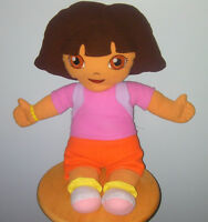Stuff Dora the explorer with back pack doll