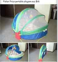 Fisher Price Portable Playpen **REDUCED**