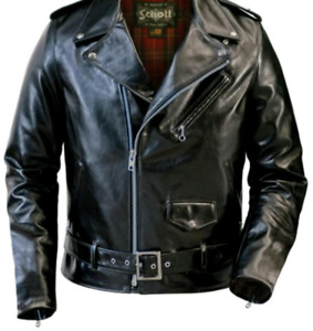 SCHOTT 626 LEATHER JACKET BRAND NEW WITH TAGS $1150 ONLY $700