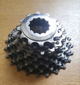 For sale is a Shimano Dura-Ace, 9 speed cassette.