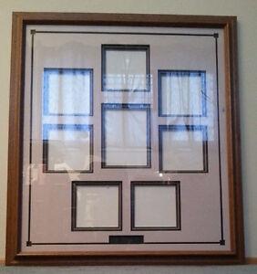 Oak frame with matte