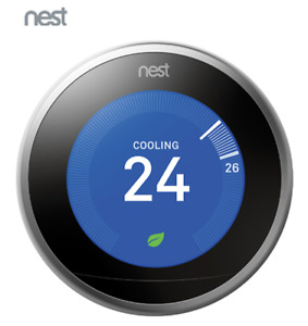 Brand New Sealed Nest Wi-Fi Smart Thermostat 3rd Generation