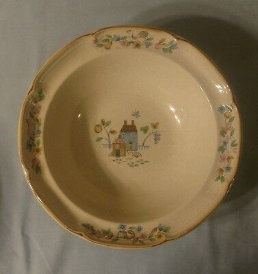 "Vintage International HEARTLAND 9"" Serving Bowl Stoneware Dishware"