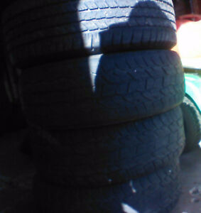 3 Cooper Discovery tires &  1Goodyear Wrangler all 265/65/18
