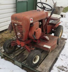 early 1960's wheel horse riding mower