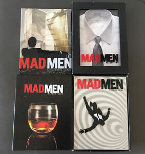 Mad Men DVDs Seasons 1 to 4