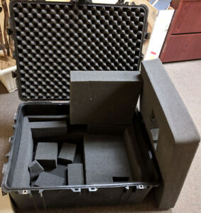 "Pelican 1630 Transport Case with Foam 31""x17""x24"" with Wheels"