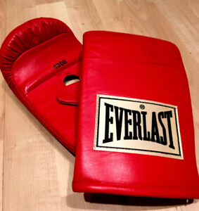 Everlast boxing Gloves Genuine Leather 4306Everlast boxing Glove