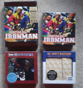 WUTANG HIP HOP RAP COLLECTION ghostface gza odb liquid swords cd