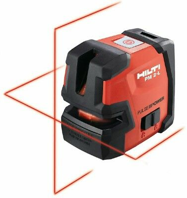 Hilti Pm 2-l Line Laser - Self-leveling Laser Level - New 2047044