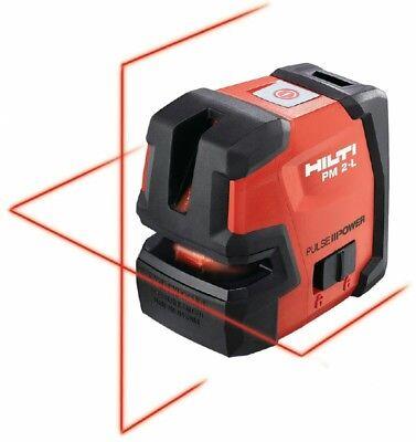 Hilti Pm 2-l Line Laser - Self-leveling Laser Level - New 2047044