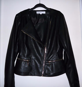 BRAND NEW Cleo Faux Leather Jacket