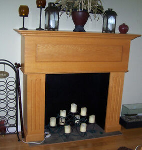 Faux Fireplace Mantel