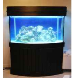 looking for a canopy for a 90 gallon bow front aquarium wood