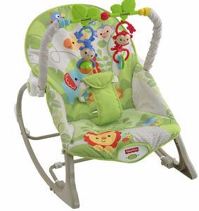 Fisher-Price Infant-to-Toddler Rocker - Rainforest Friends