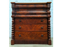 Antique Scotch Chest Of Drawers (DELIVERY AVAILABLE)