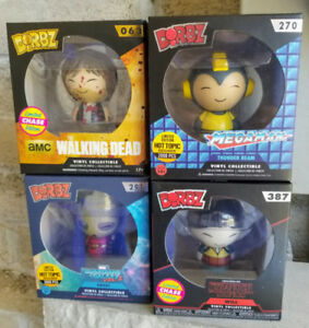 LIMITED EDITION/CHASE FUNKO DORBZ FIGURES - NEW