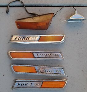 F100 F250  Exterior, Reflector Emblems & Lights