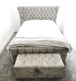 Pleasant Wing Beds For Sale Double Beds Bed Frames Gumtree Theyellowbook Wood Chair Design Ideas Theyellowbookinfo