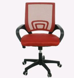 Office Computer Desks Seats Mesh Chair Ergonomic 360° Adjustable Chair