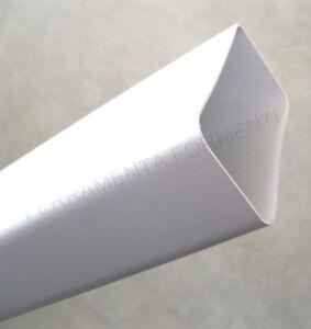 Tubo rettangolare mm 120 x 60 in pvc per cappa cucina - Tubo cappa cucina ...