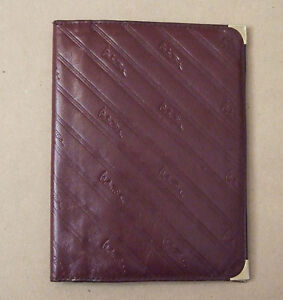 Valentino passport holder & wallet - made in Italy, leather