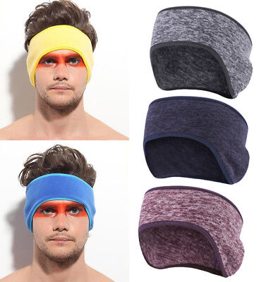 Fleece Headband Ear Warmer - Cold Weather Polar Fleece Ear Warmer Cover Headband Ear Muffs for Men & Women US
