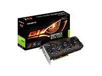 GTX 1080 gigabyte G1 Gaming OC rgb