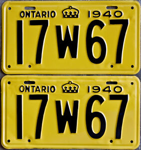 YOM Licence Plates For Your Old Auto - Ministry Guaranteed! Windsor Region Ontario image 1