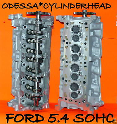 PAIR FORD LINCOLN NAVIGATOR 4.6 5.4 SOHC CYLINDER HEADS casting# RF-2L1E REBUILT