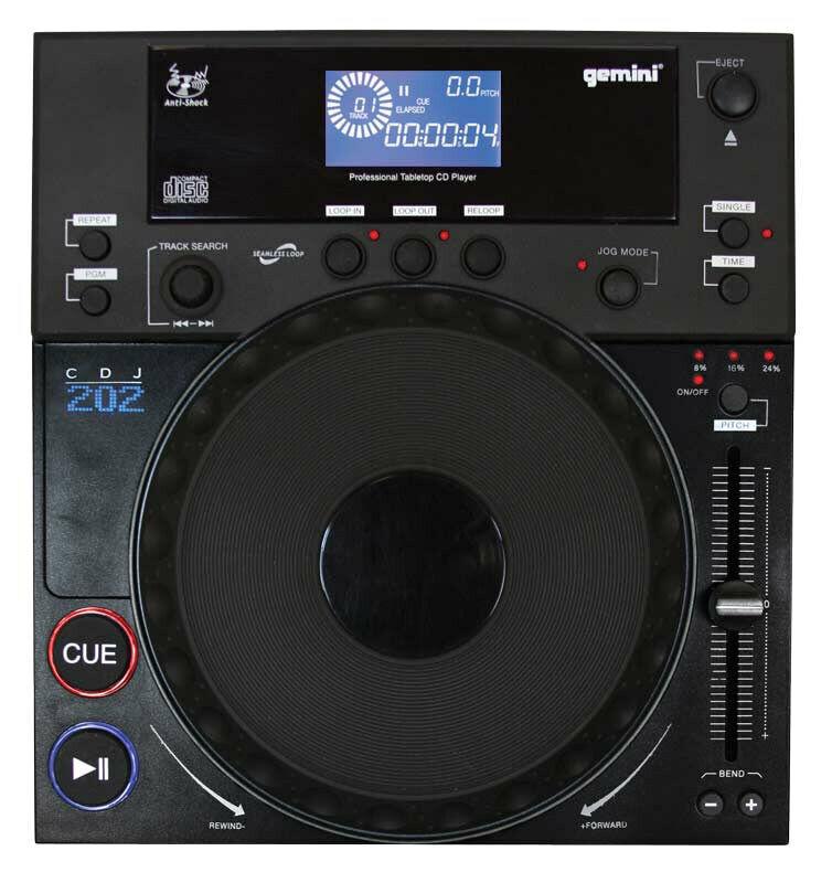 Gemini CDJ-202 Professional CD Player