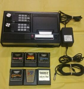 Coleco Vision Console by Colecovision with Six Games Working