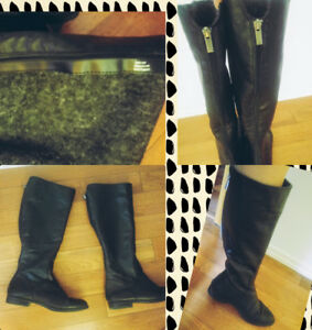 Leather boots from lechateau