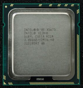 DELL X58 MOTHERBOARD + XEON X5675 CPU