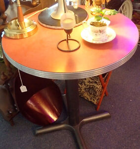 Vintage Coffee Shop Table