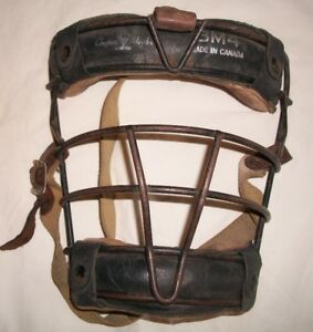 Vintage Cooper Weeks BM4 Catchers mask