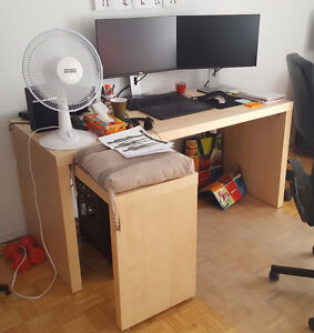 Office desk Malm Ikea in great conditions, last price!