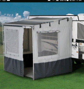 A DOMETIC ADD A ROOM TO YOUR TRAILER OR RV