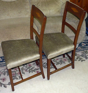New Price - Pair Mahogany Side Chairs. Antique George III Period Kingston Kingston Area image 5